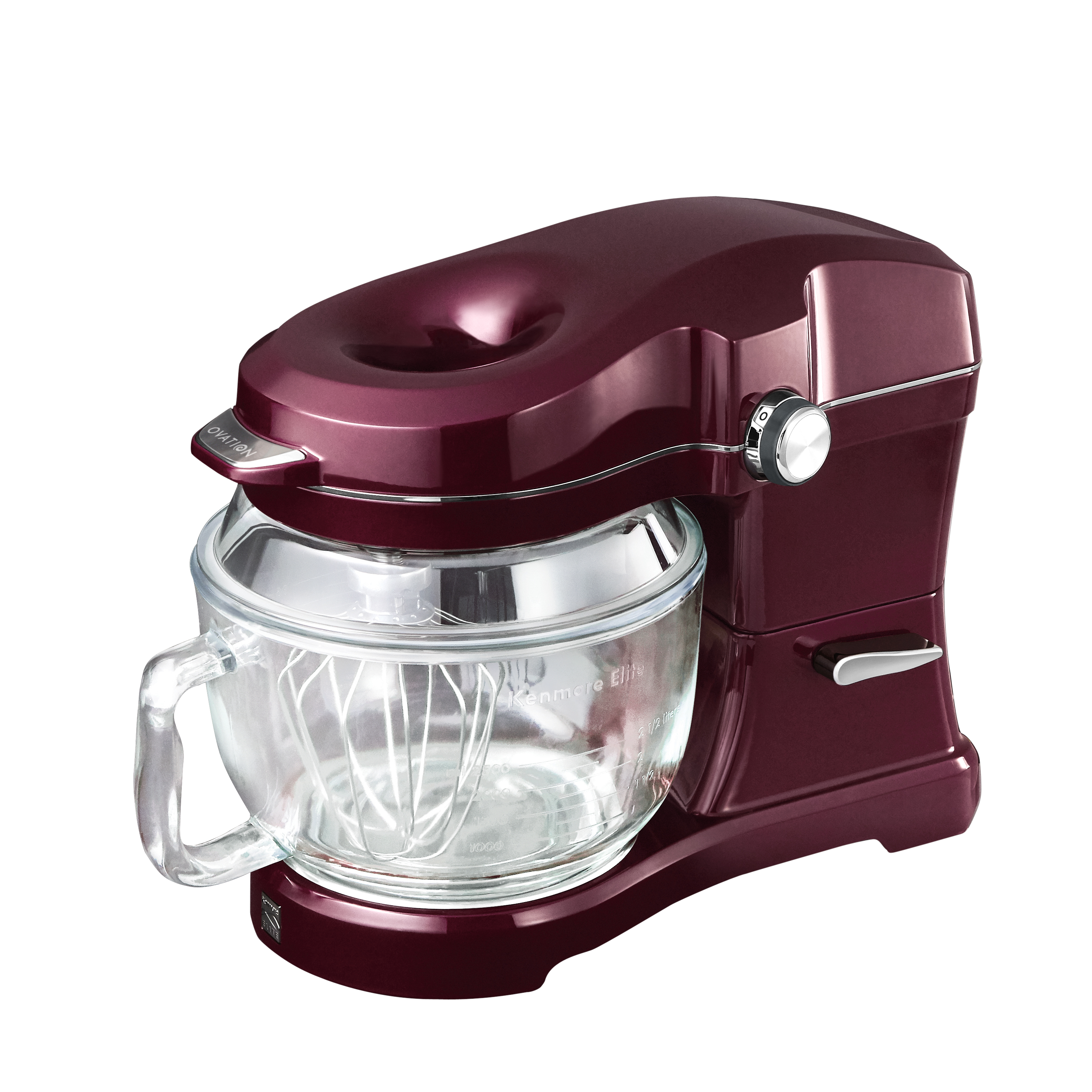 kitchen mixers blanco faucet electric sears kenmore elite 417602 ovation stand mixer burgundy