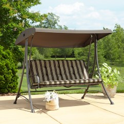 Swing Chair Replacement Parts Sonoma Outdoors Antigravity Garden Oasis 3 Seat With Canopy