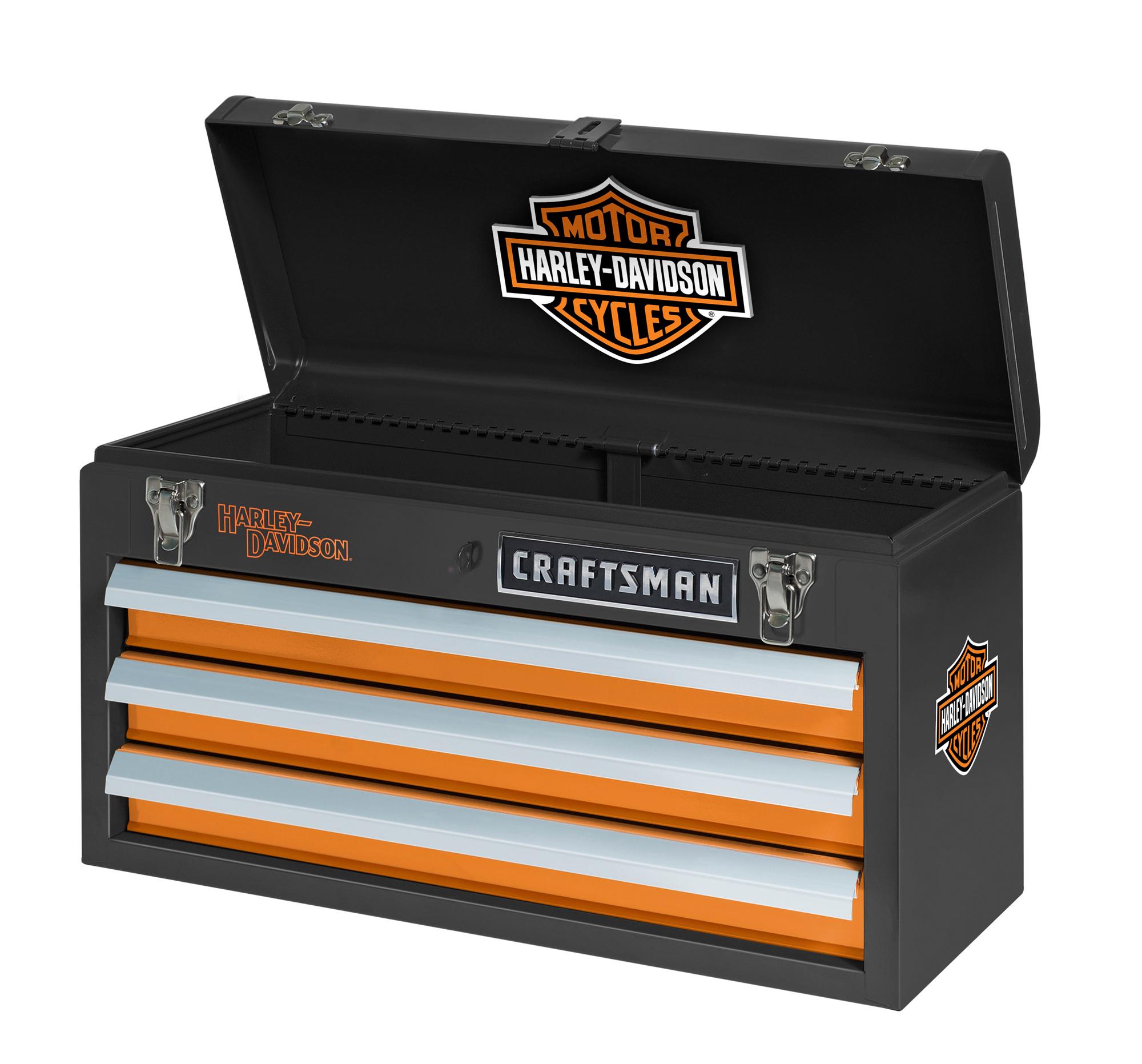 Craftsman Harley-davidson 3 Drawer Portable Tool Chest