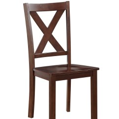 X Back Chairs Folding At Cosco Wood Side Chair 2 Pack Shop Your Way Online