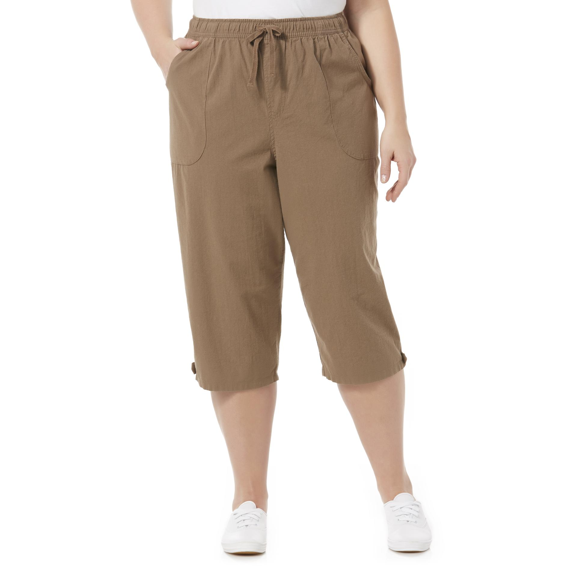 Erika Women' Cotton Cropped Pants