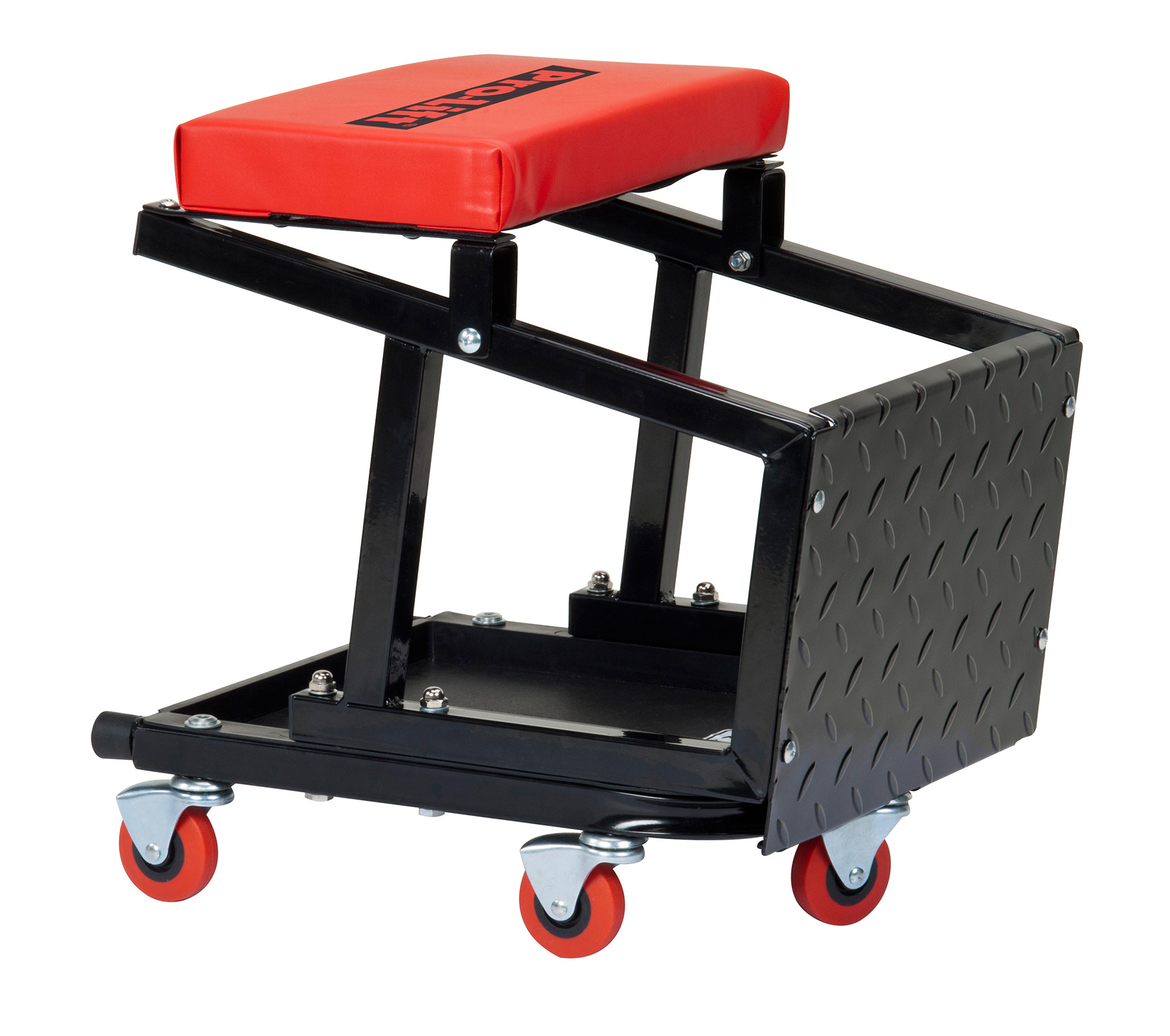 chair stool combo wedding chairs for rent pro lift creeper seat and 300 lbs capacity