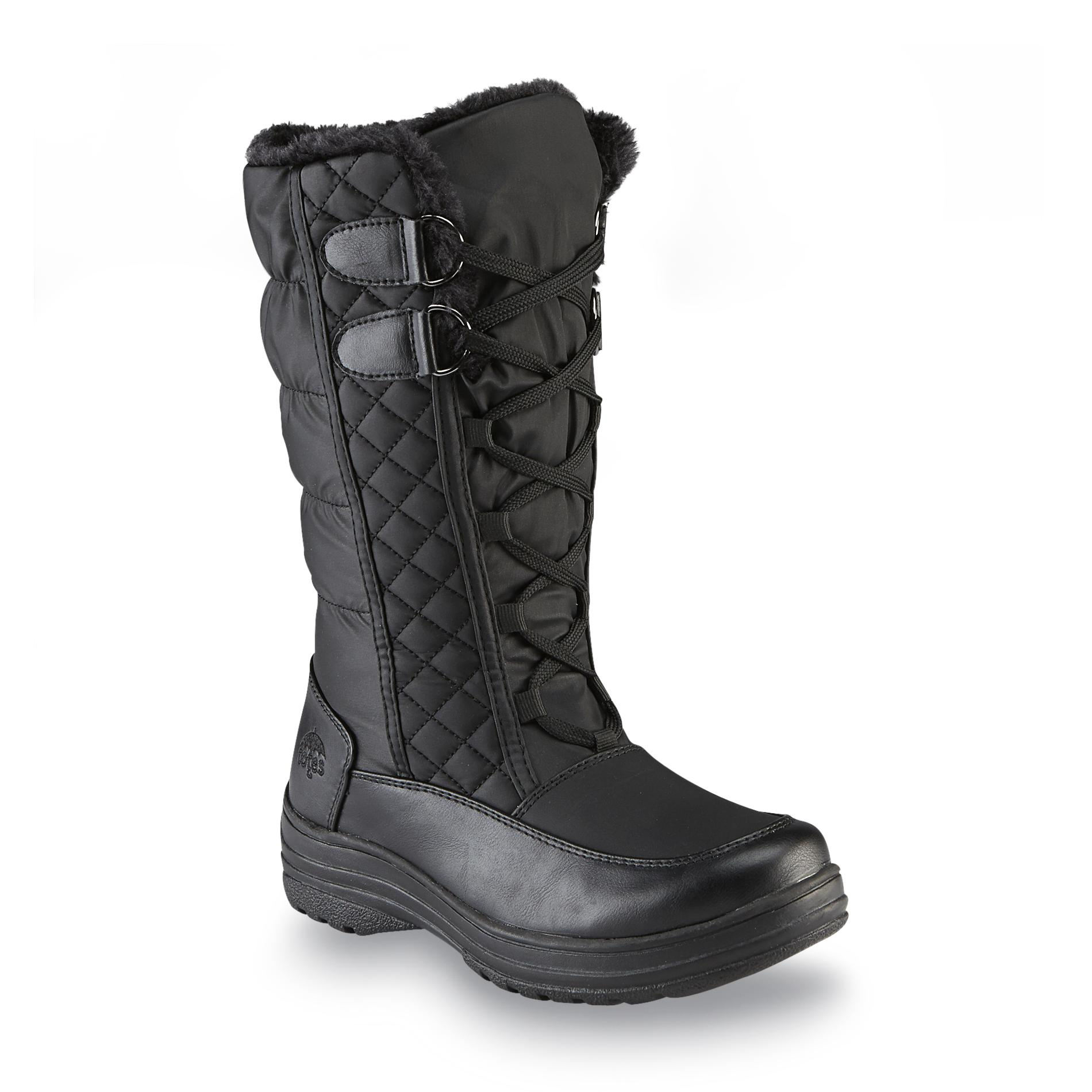 Totes Women' Claudia Winter Weather Boot - Black