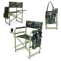 Picnic Time Sports Chair Camouflage