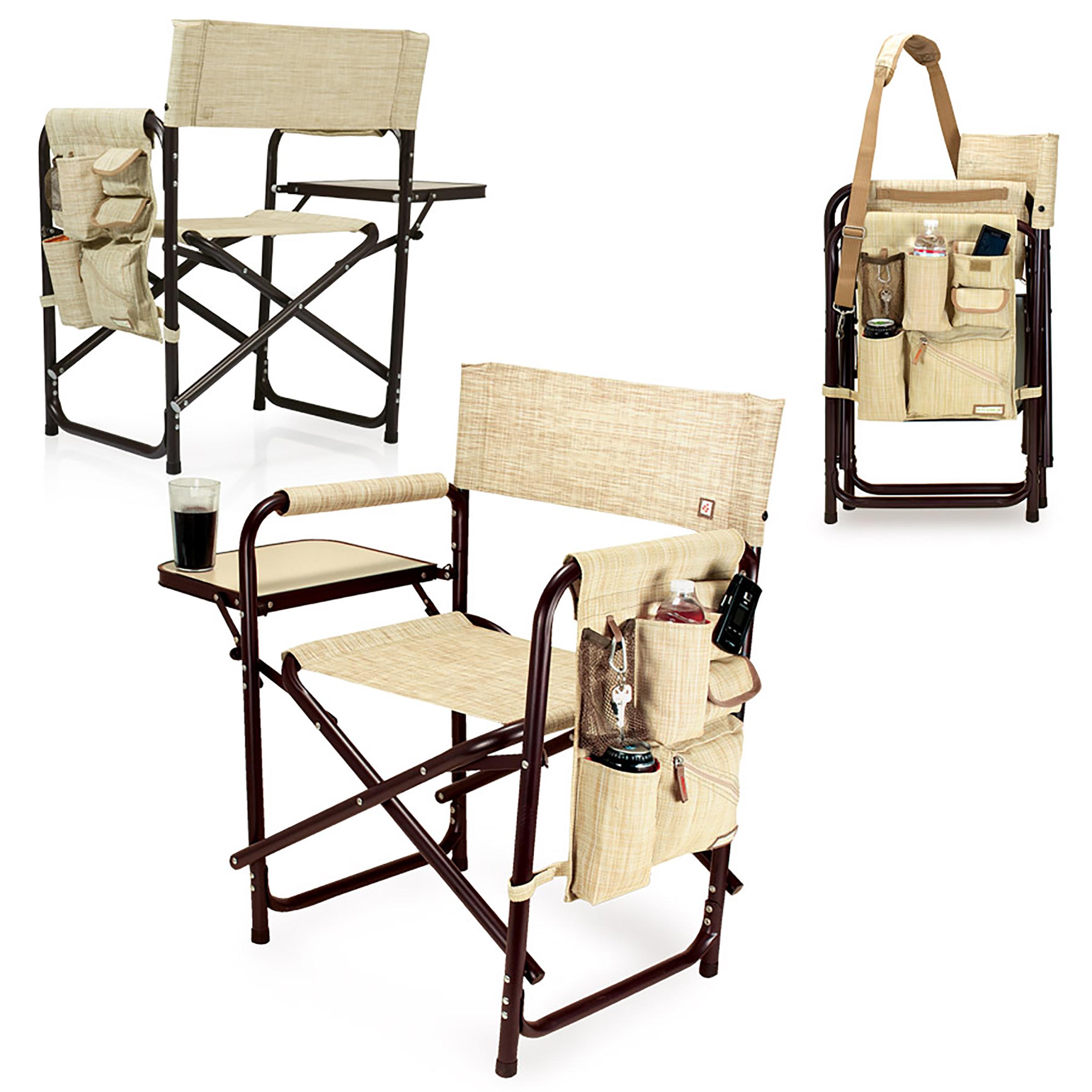 Picnic Time Sports Chair Botanica