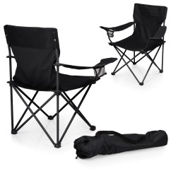 Picnic Time Sports Chair Ikea Poang Covers Australia Ptz Camp Black Shop Your Way Online