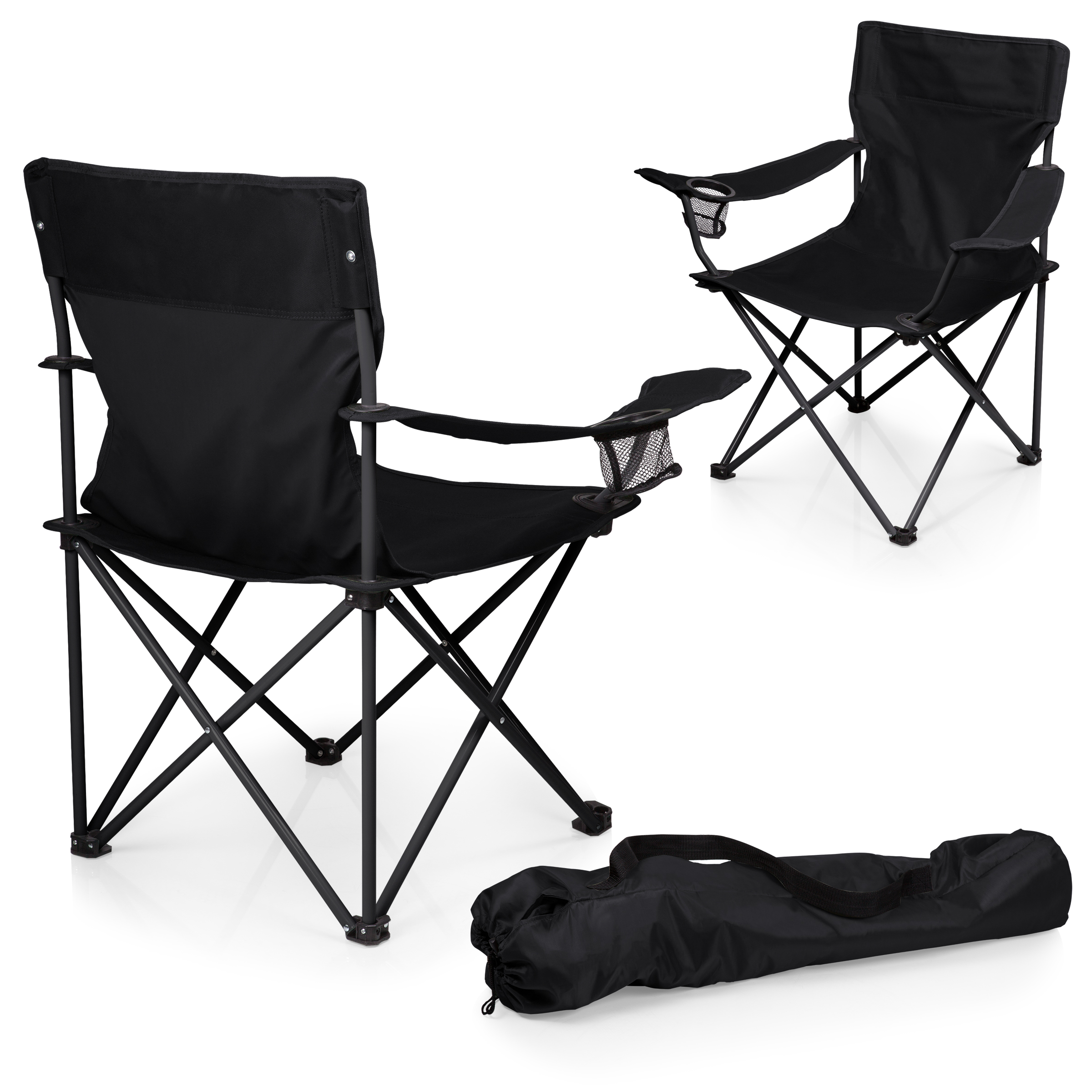 Picnic Time Sports Chair Picnic Time Ptz Camp Chair Black Shop Your Way Online