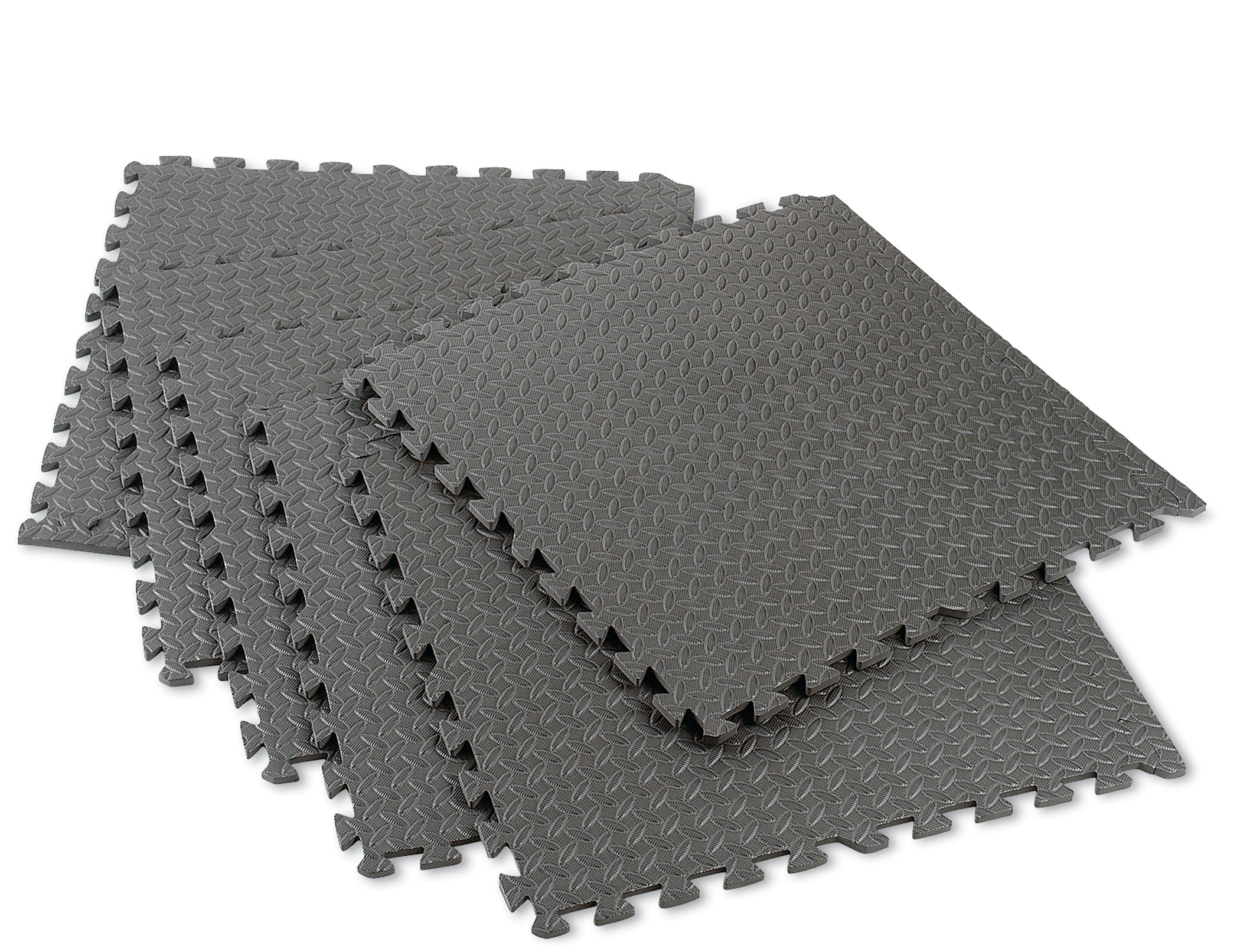 NORSK 2 ft x 2 ft 6 Pack Foam Flooring with borders