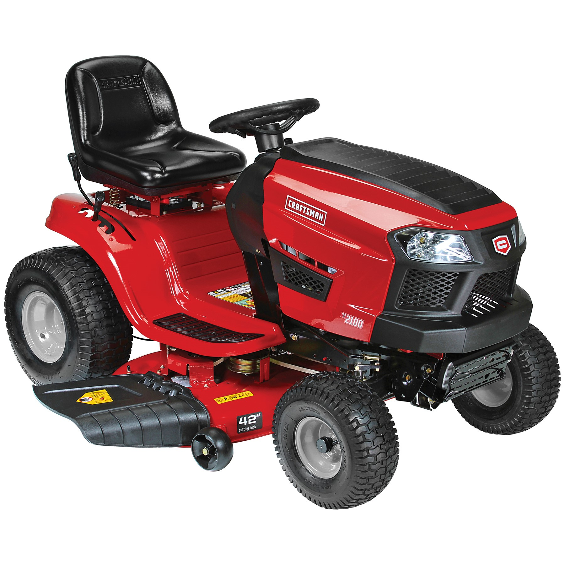 craftsman 25587 42 19 hp briggs stratton fender hydro automatic riding mower [ 1800 x 1800 Pixel ]