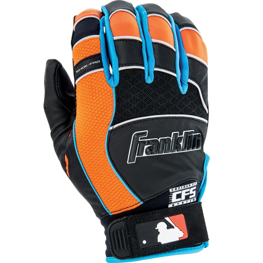Franklin Sports Shok-pro Batting Glove