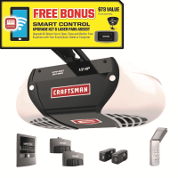 Craftsman 1/2 HP Belt Drive Garage Door Opener - Sears