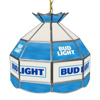 Bud Light 16 inch Stained Glass Tiffany Style Lamp | Shop ...