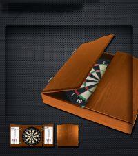 Accudart Heritage Dartboard Cabinet - Bristle