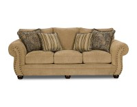 Simmons Upholstery Victoria Sofa - Antique