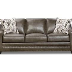 Sofa Parts Names Replacement Cushions Canada Simmons Metropolitan Slate