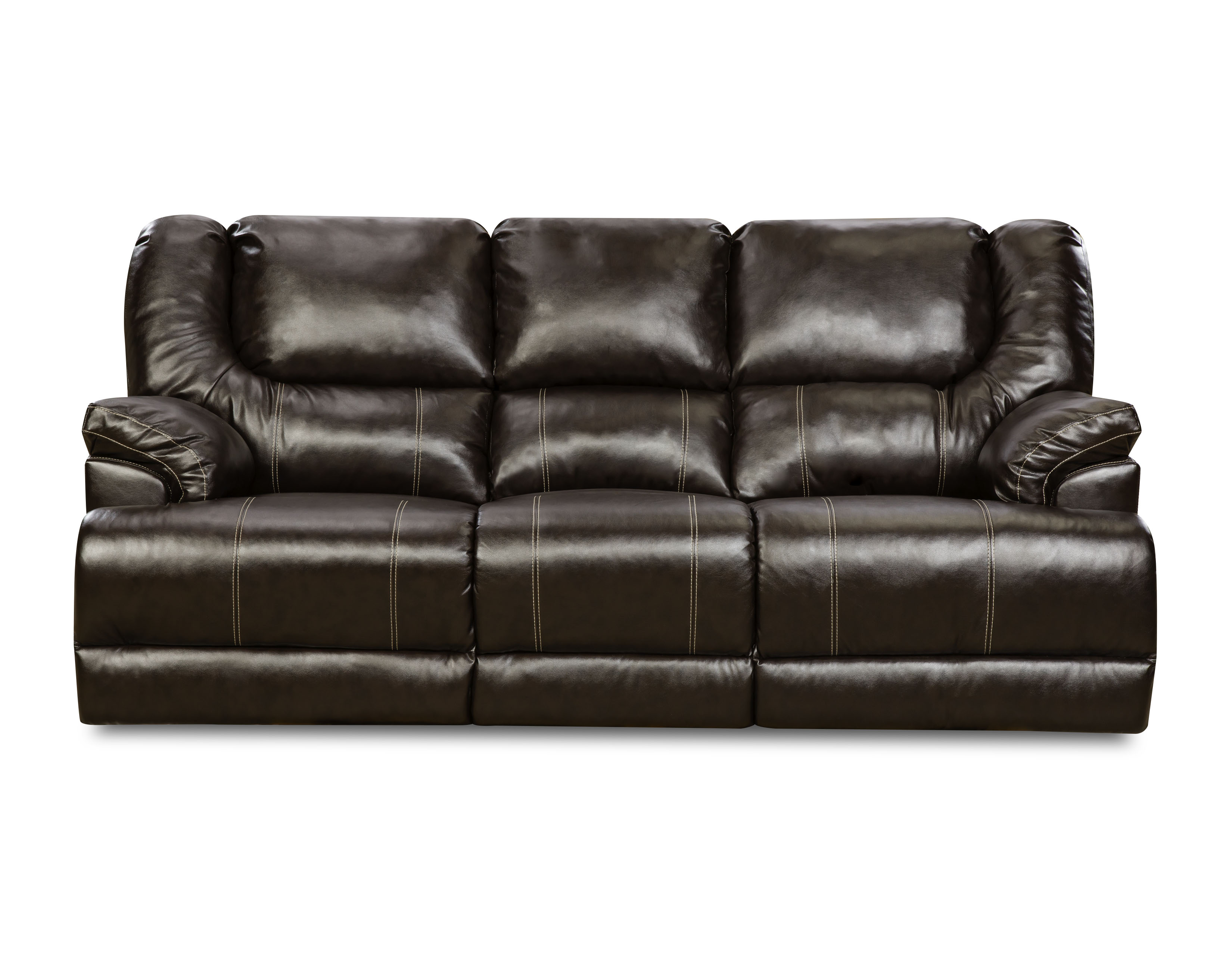 sears outlet bean bag chairs overstuffed chair cover sofas 5034 br wisc sofa wisconsin chocolate