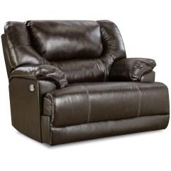 Reclining Chair Bed Rocking With Ottoman Walmart Simmons Upholstery Bentley Power Cuddler Recliner Bingo