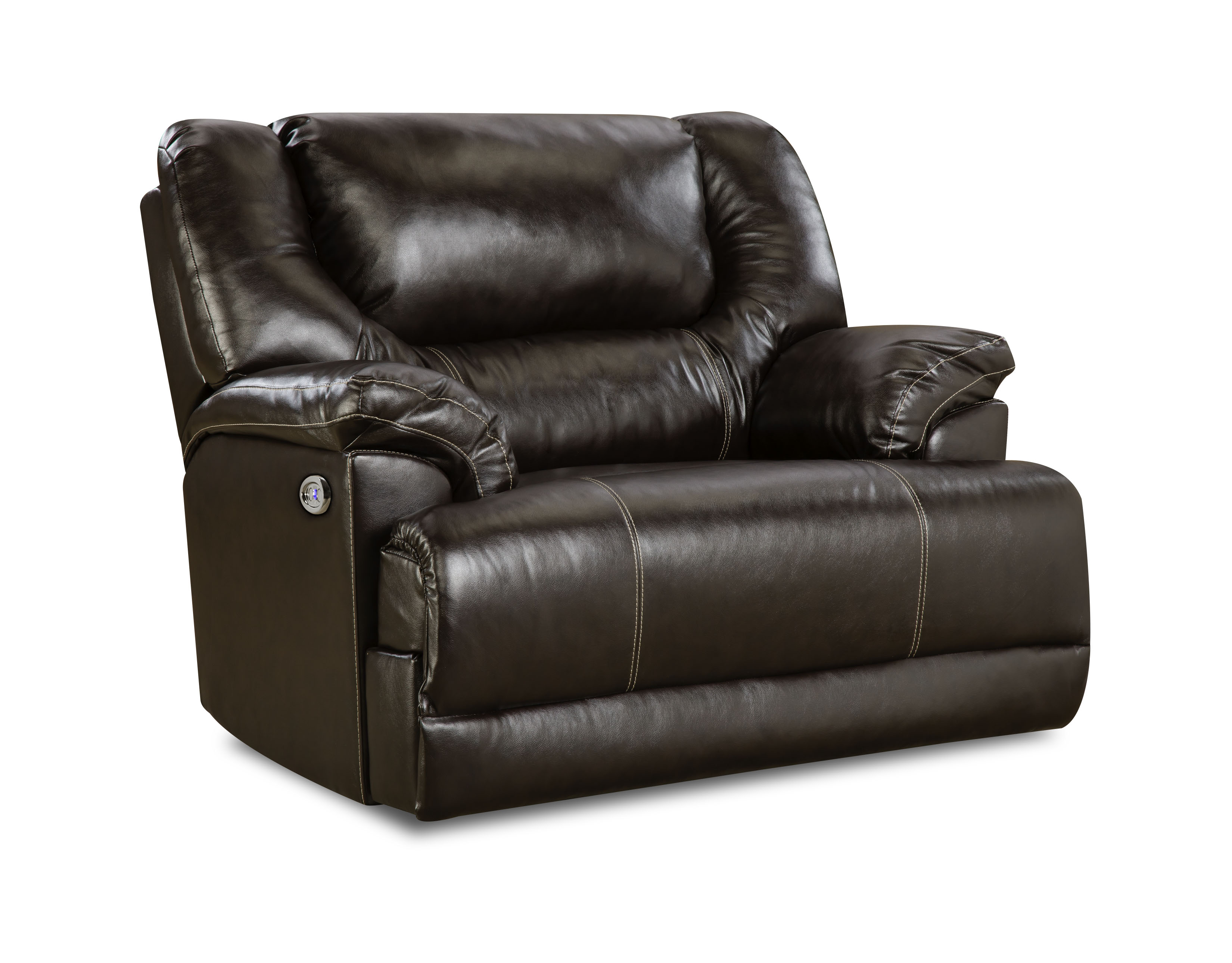 Sears Accent Chairs Check Out Simmons Upholstery Bentley Power Cuddler Recliner Bingo Brown Shopyourway