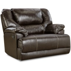 Bentley Leather Sofa Reviews Frames Suppliers Simmons Upholstery Cuddler Recliner Bingo Brown