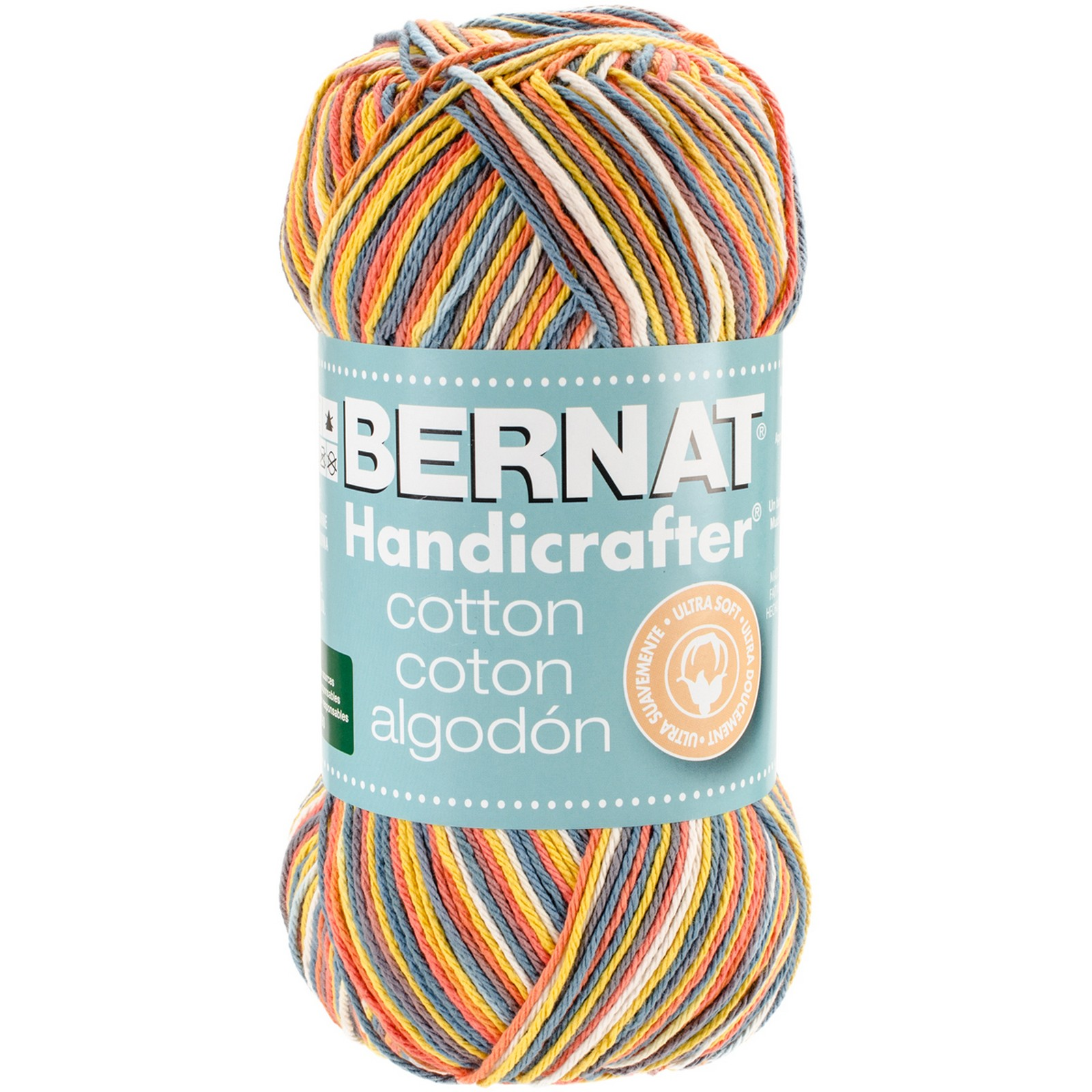 kitchen cotton yarn ikea countertops bernat handicrafter ombres flower garden