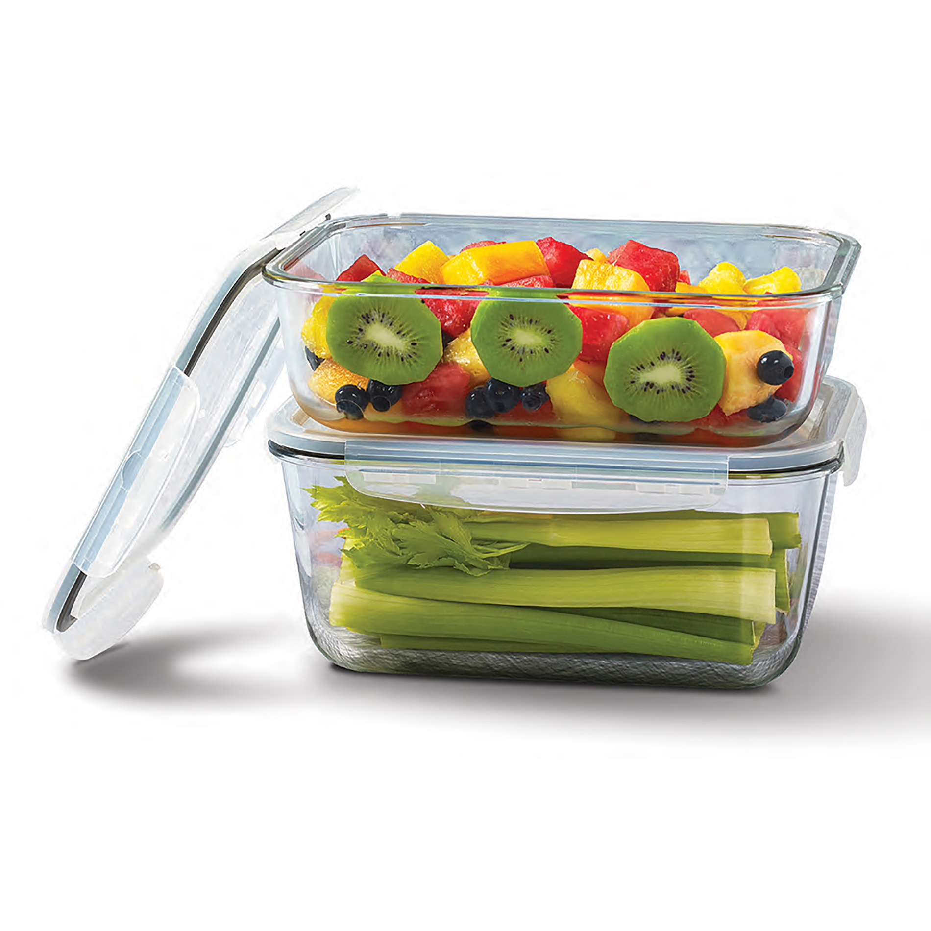 Tabletops Unlimited 4pc. Glass Storage Container Set