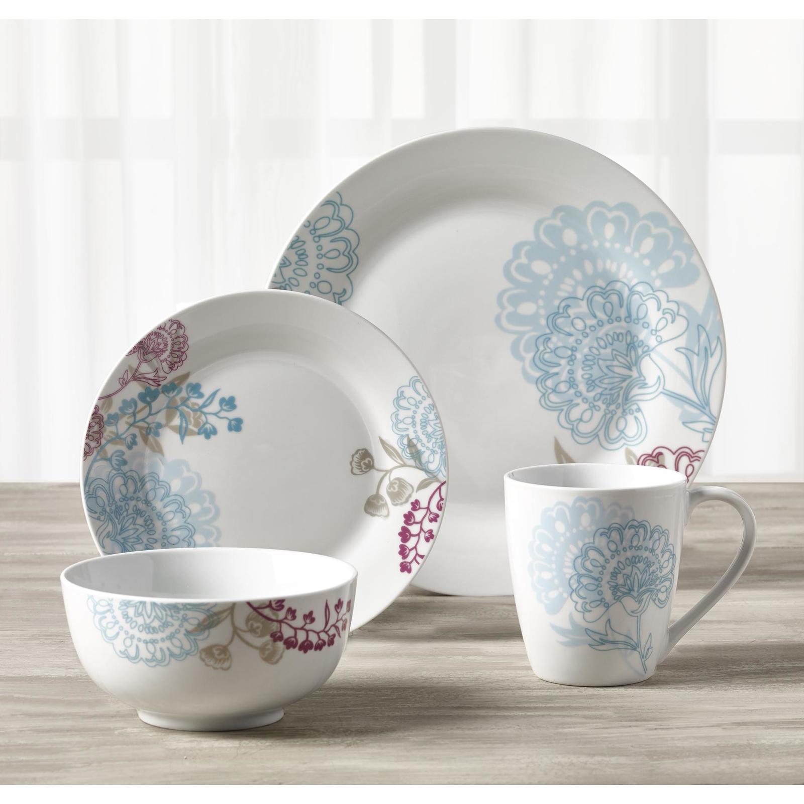 Tabletops Unlimited 16-pc. Grace Dinnerware Set