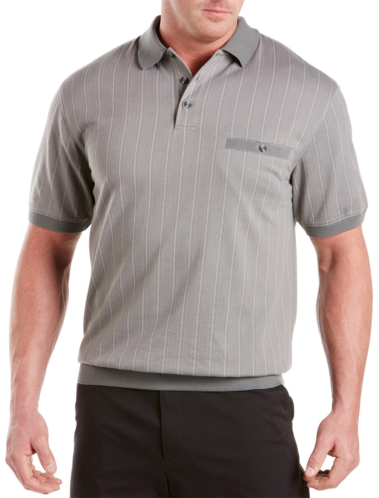 Big and Tall Men's Banded Bottom Shirts