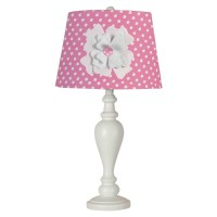 """Creative Motion Industries 24.5"""" Pink Shade with Flower ..."""