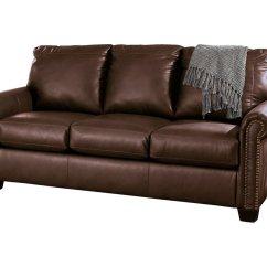 Ashley Furniture Durablend Sleeper Sofa Half Circle Leather Signature Design By Lottie Full