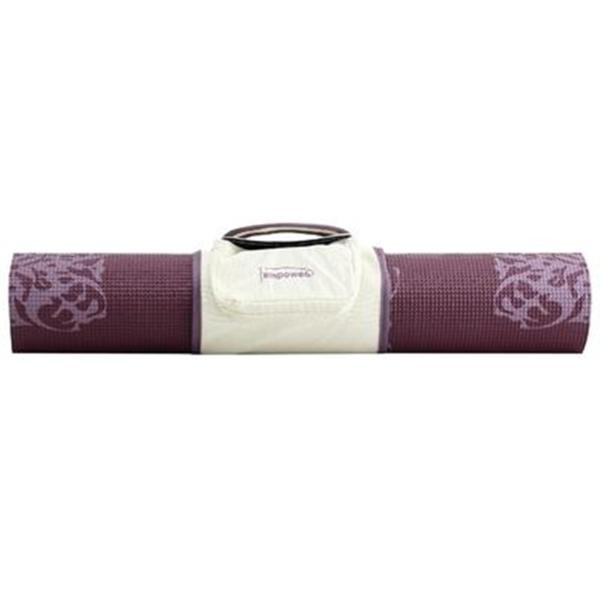 Upc 831090004513 - Empower Printed Yoga Mat With Clutch Cranberry