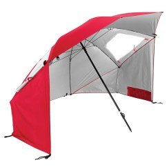 Super Brella Chair How To Raise A Office Height Red Sklz Sport Partial Tentsears