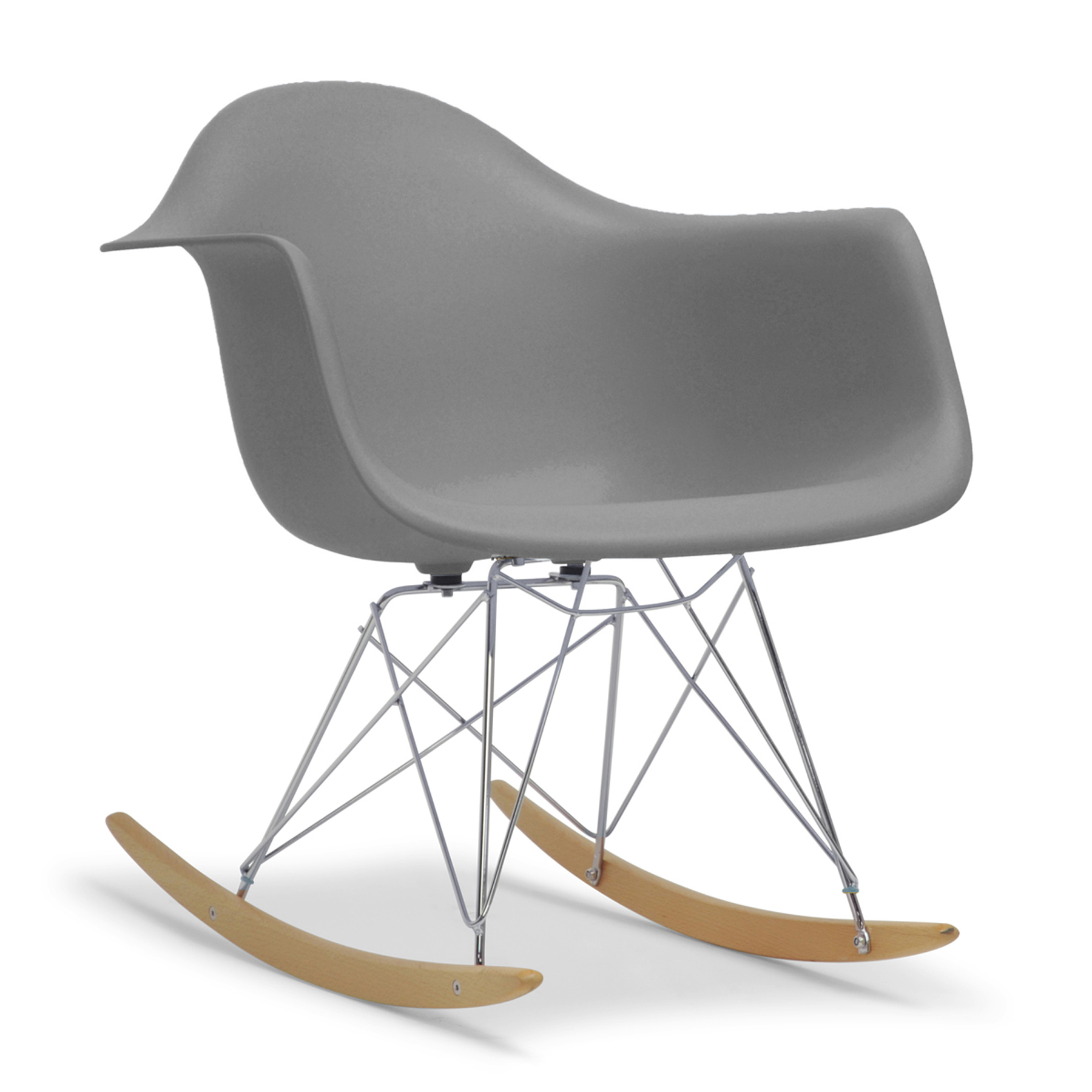mid century modern plastic chairs folding tables and for sale baxton studio dario grey shell