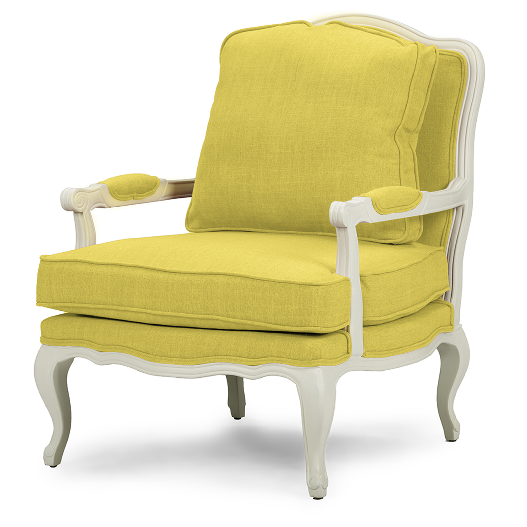 Yellow Living Room Chair Yellow Accent Chairs Living Room