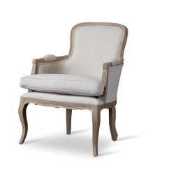 Traditional Occasional Chairs Best Shower Chair For Elderly Baxton Studio Napoleon French Accent Chairoak