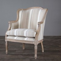 Baxton Studio Charlemagne Traditional French Accent Chair ...