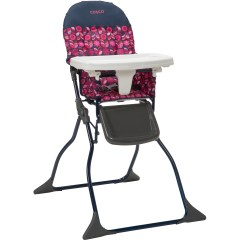 How To Fold Up A Cosco High Chair Lounge Chairs Walmart Simple Geo Floral