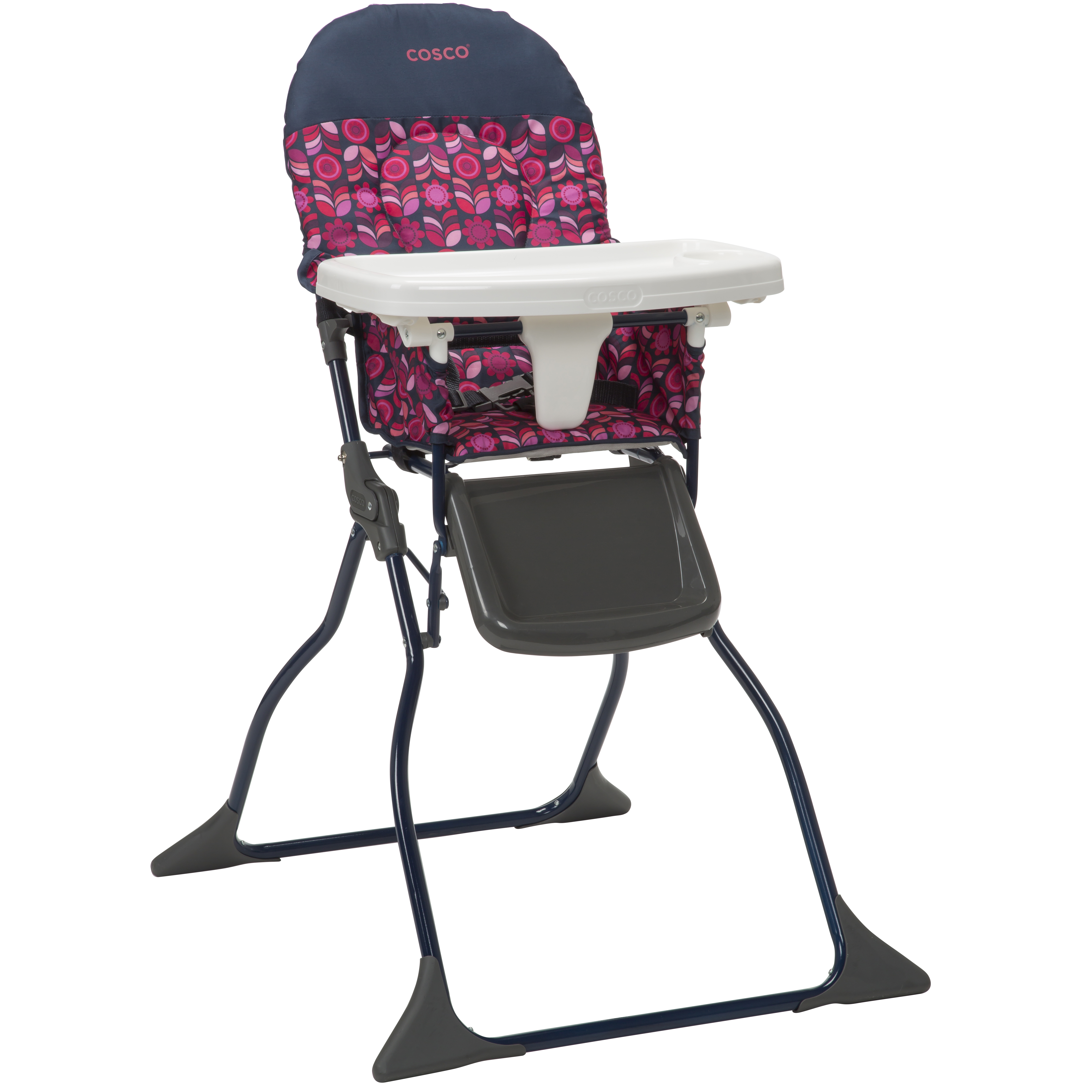 burlington baby high chairs summer chair booster seat cosco simple fold geo floral
