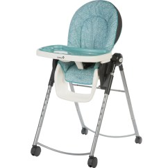 Baby High Chairs With Wheels Dining Room End Safety 1st Adaptable Chair Marina