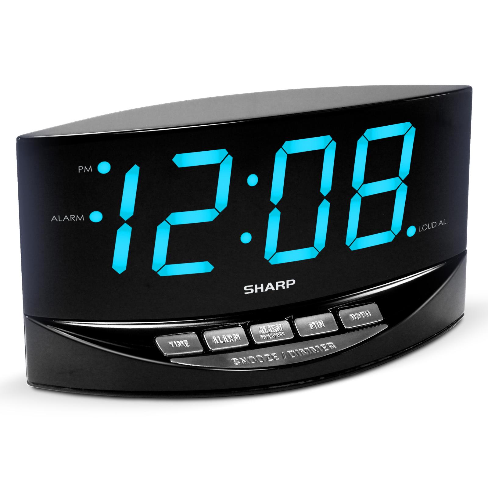 Sharp Spc754 Digital Alarm Clock