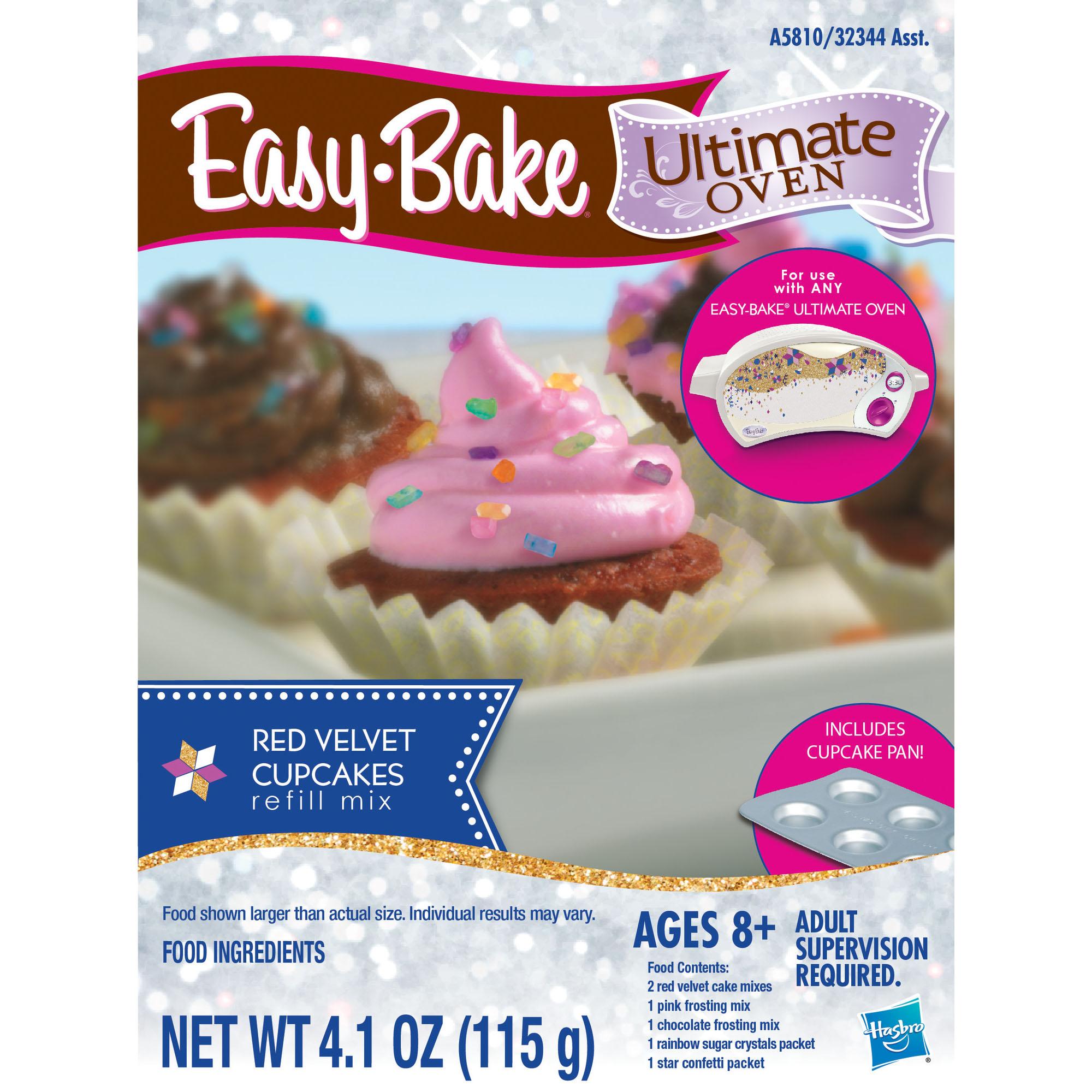 Easy Bake Ultimate Oven Red Velvet Cupcakes Refill Pack