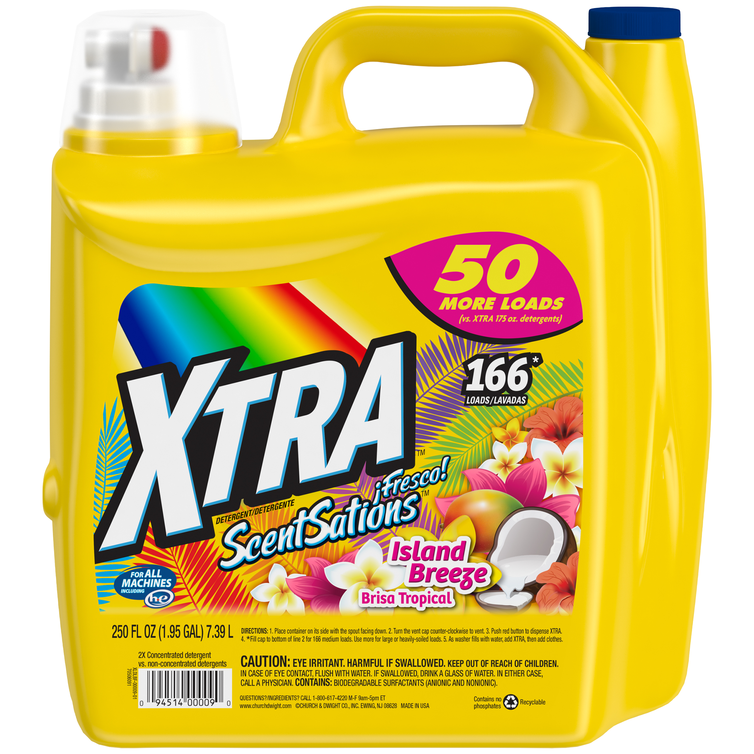 Xtra Crystal Clean New Bottle 2X Concentrated Plus