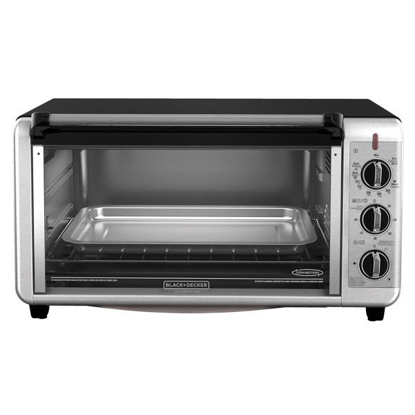 Black Decker Extra Wide Counter Toaster Oven