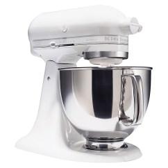Kitchen Aid Stand Up Mixer Timer App Kitchenaid Ksm150psww Artisan Series White On 5