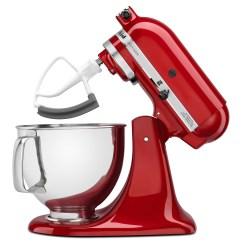 Red Kitchen Aid Mixer Designer Portland Oregon Kitchenaid Ksm150pser 5 Quart Artisan Series Stand Empire 1