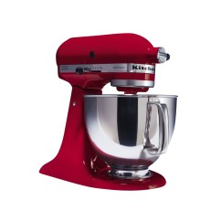 Kitchen Aid 5 Qt Mixer Small Round Table Set Kitchenaid Ksm150pser Quart Artisan Series Stand Empire Red 2