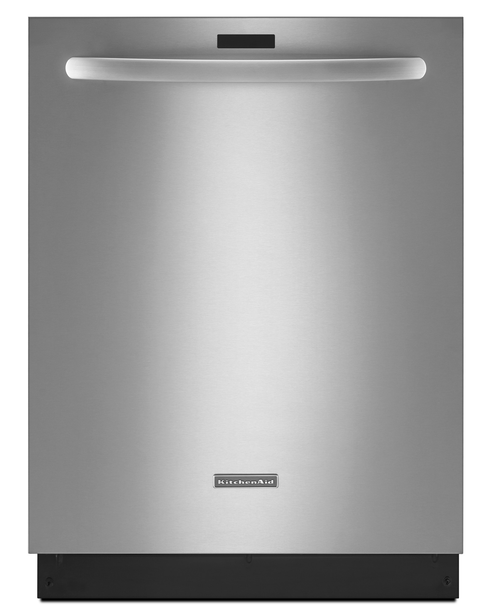 kitchen aid appliances sink drain size kitchenaid kdtm354dss 24 quot built in 6 cycle dishwasher w