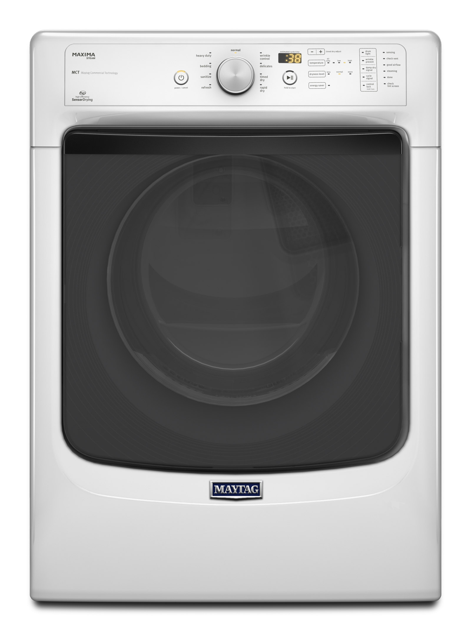 Maytag Electric Dryer Model Mde9206ayw