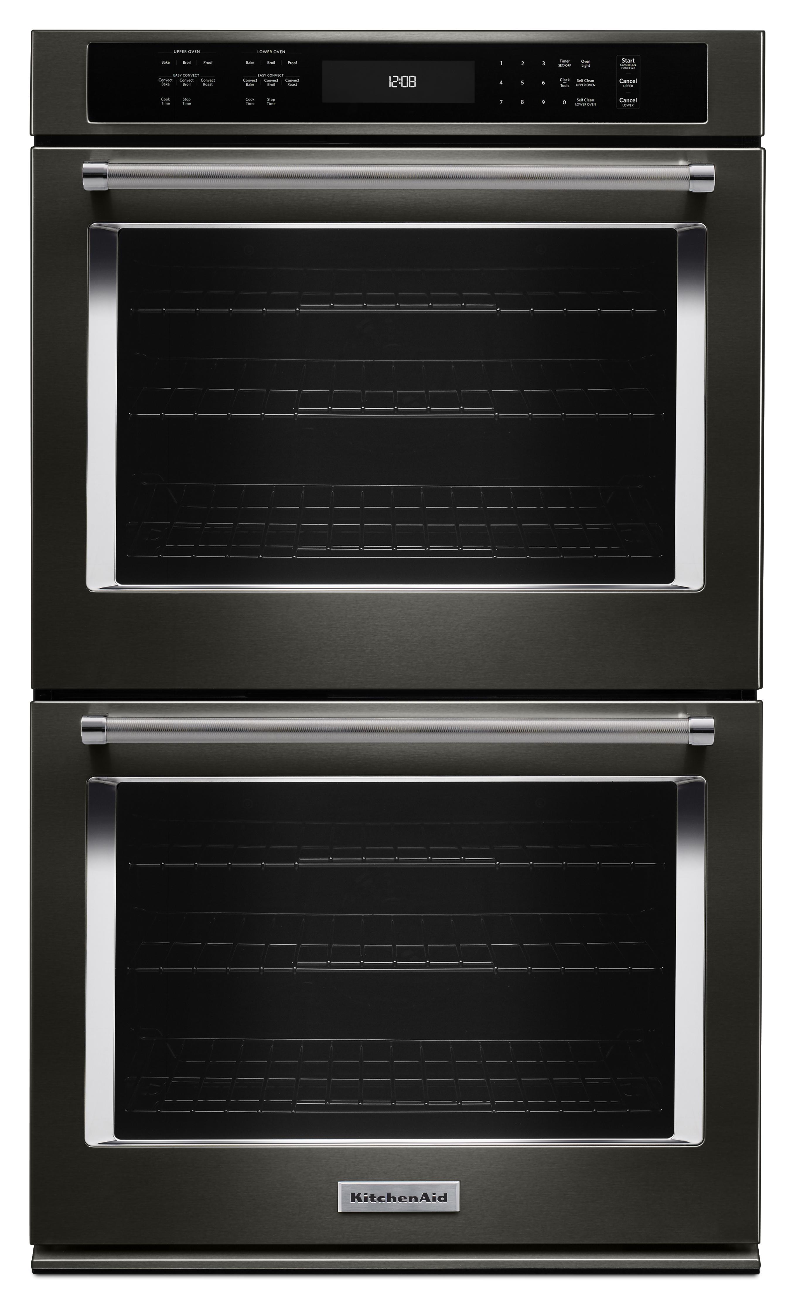 KitchenAid KODE507EBS 27 Double Wall Oven w EvenHeat