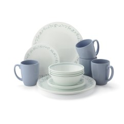 Kitchen Dish Sets Marble Counters Corelle Livingware 16 Piece Dinnerware Set Country Cottage
