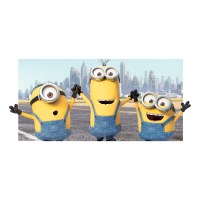 Universal Studios Minions Take Manhattan 3D Body Pillow